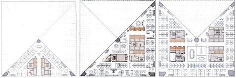 Bank Of China Tower Floor Plan | drawings diagrams a major building bank of china tower