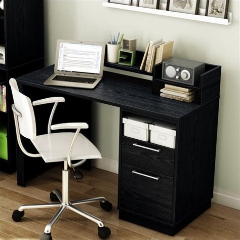 south shore academic black oak student desk ebay
