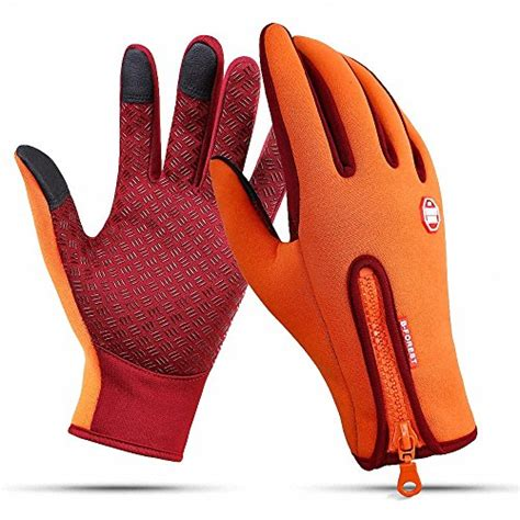 Motorrad Handschuhe Orange by Handschuhe In Orange F 252 R Frauen Damenmode In Orange Bei