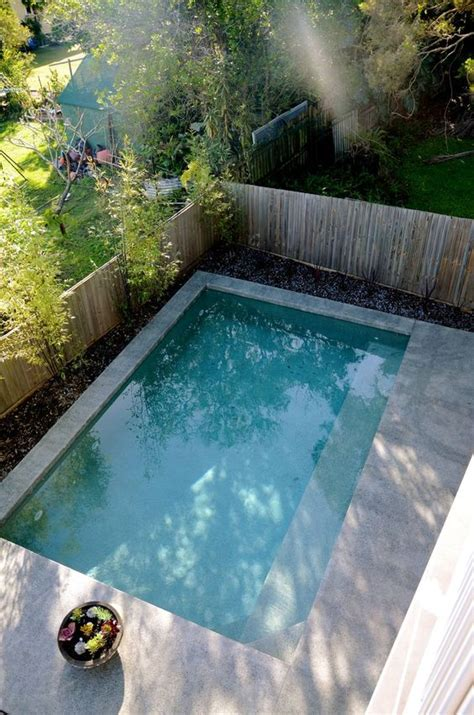 28 Cool Plunge Swimming Pools For Outdoors Digsdigs Backyard Plunge Pool