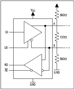 rs485 terminating resistor theory trim the rs 485 designs appno020 datasheet archive