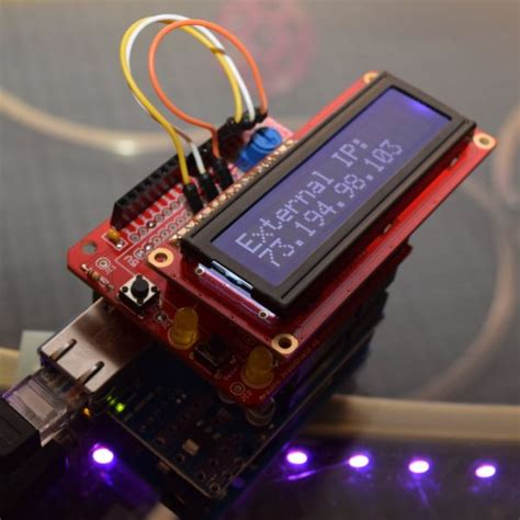 forwarding external ip an arduino device that monitors your external ip address