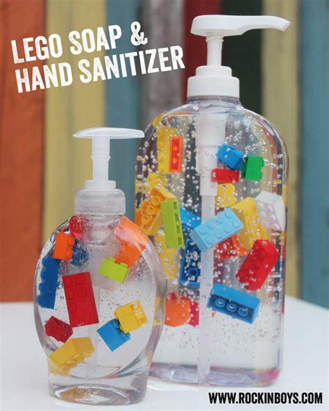 lego hand tutorial lego soap and hand sanitizer tutorial rockin boys club
