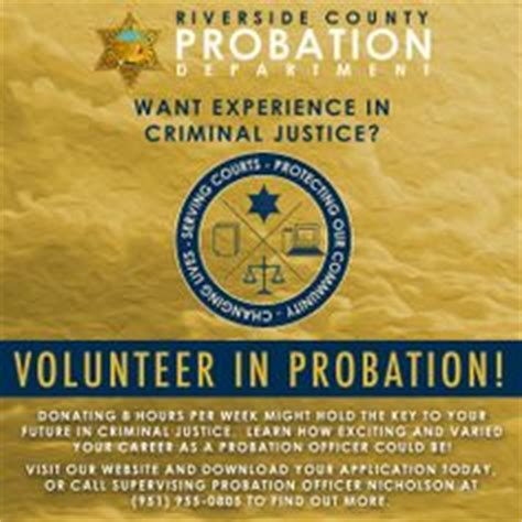 How Does It Take To Become A Probation Officer by 1000 Images About Probation Dept Riverside County On
