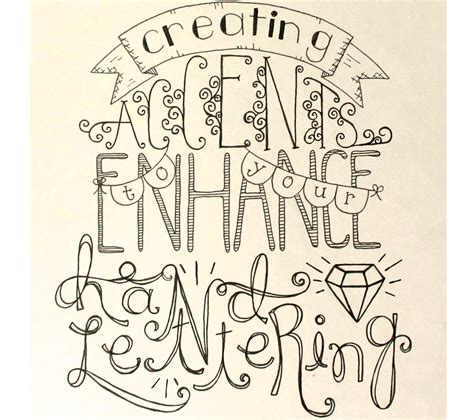 made by marzipan hand lettering accents sakura of america