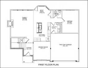 First Floor Master Bedroom by Three Bedroom Homes