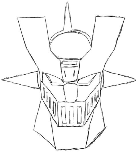Mazinger Z Drawing by Mazinger Z By Andore91 On Deviantart