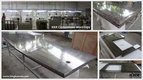 Discount Countertop by Kkr Acrylic Solid Surface Polymer Countertops Bathroom