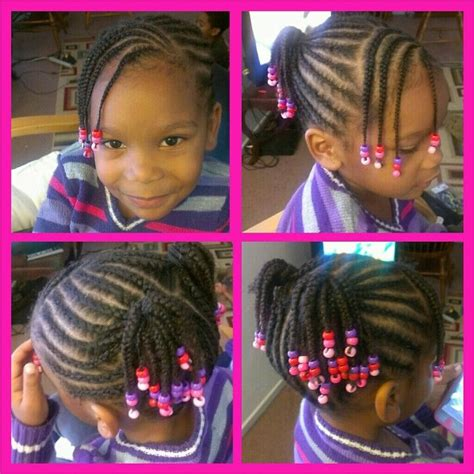 corn row kids kids cornrow style natural hair my work pinterest