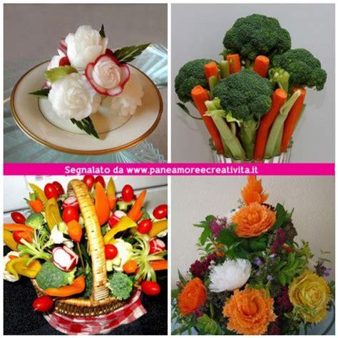 vasi di frutta idee per la tavola di pasqua bouquet di frutta e verdura