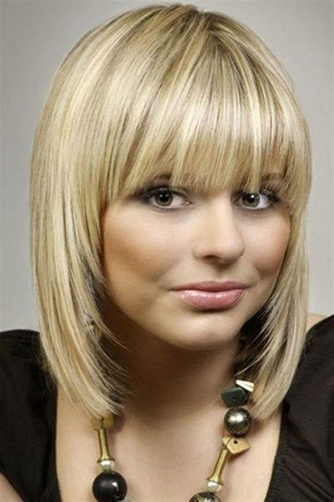 hairstyle ideas with a fringe awesome full fringe hairstyle ideas for medium hair 2