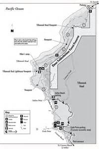 Ecola State Park Map ecola state park maplets