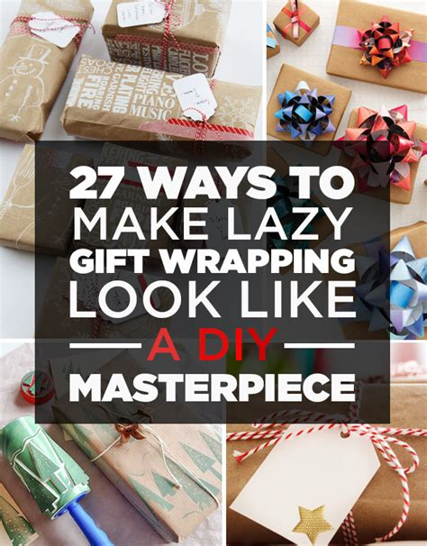 how to wrap a gift without 27 clever gift wrapping tricks for lazy