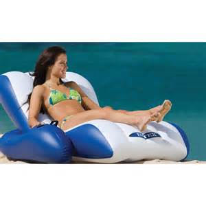 58868 floating recliner lounge pool mats and loungers