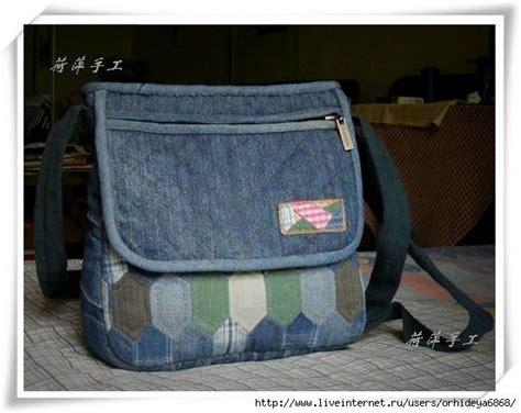 Denim Patchwork Bag Patterns Free - new bag from foto tutorial denim bags