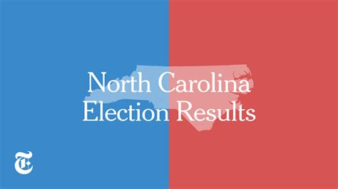 carolina election results 2016 the new york times
