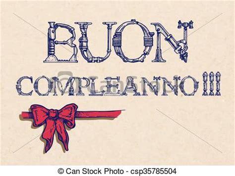 clipart buon compleanno buon compleanno happy birthday in italian ribbon bow