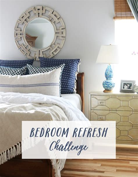 bedroom challenges bedroom refresh challenge the inspired room
