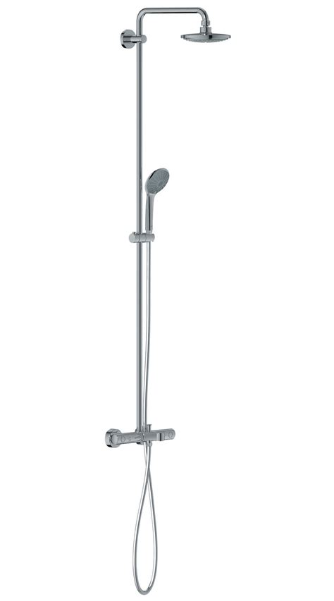 bath shower systems grohe euphoria thermostatic bath shower system chrome
