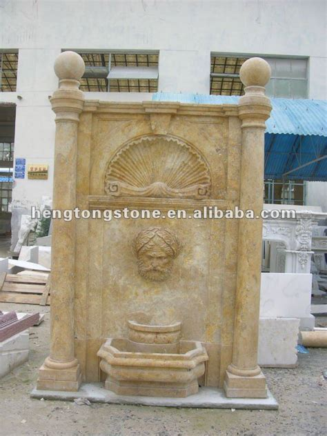 modern garden travertine wall fountain cheap buy wall