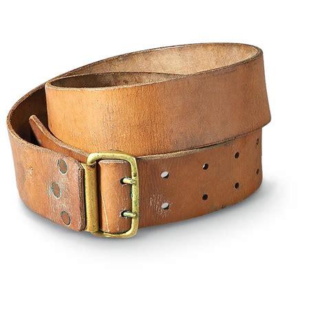 used swedish leather belt brown 196725 field