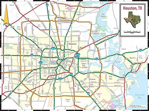houston in usa map houston city map houston usa mappery