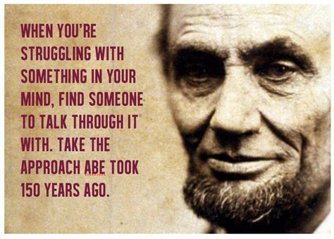 the story about abraham lincoln when you re working on your sales story talk through it