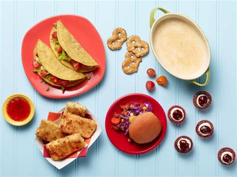 recipes kids can make food network cooking with kids