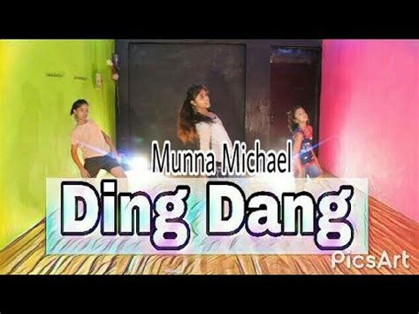 tutorial dance on ding dang ding dang dance video munna michael 2017 tiger