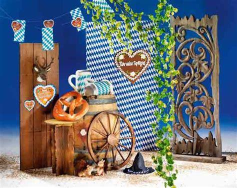 oktoberfest dekorationen originelle dekoration rund um 180 s wein und oktoberfest