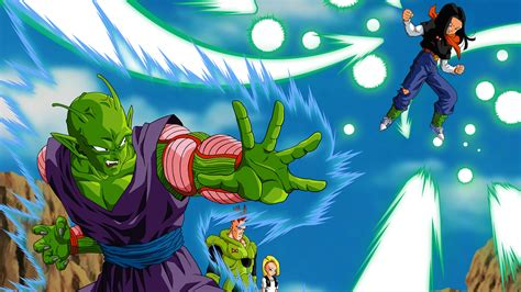 dragon ball z wallpaper android download dragon ball z piccolo versus android 17 wallpapers free