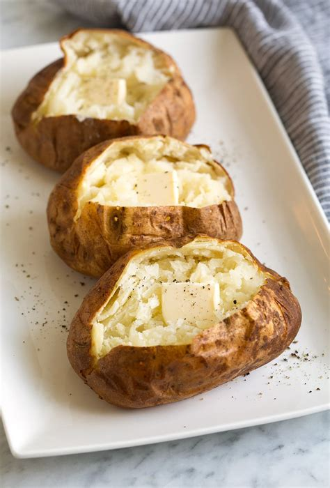 best way to bake a potato best baked potatoes every time cooking