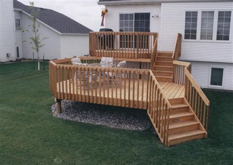 Multi Level Decks Deckmasters Deck Building Designs And Plans Ideas