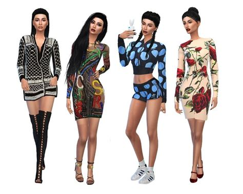 design clothes the sims 4 sims 4 designer cc google search sims 4 pinterest sims