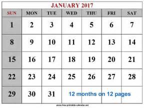 Small Desktop Monthly Calendar 2017 Desktop Calendar Free Printable Calendar