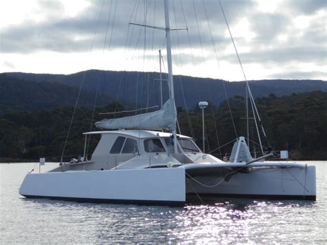 catamaran under sail for sale used chamberlin 12m catamaran for sale yachts for sale