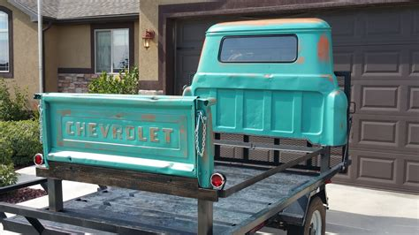 bed of truck tailgate customs custom king size 1966 chevrolet truck bed