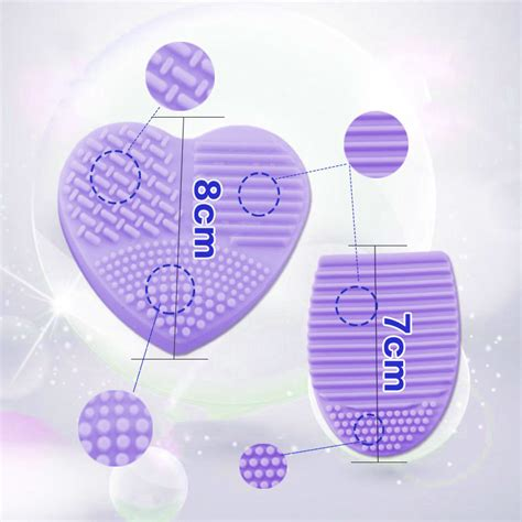 New Arrival Brush Egg Pad Egg Brush Pad egg shape cleaning glove makeup brush cleaners washing scrubber pad ebay