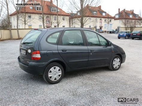 2001 renault scenic 1 9 dci expression car photo and specs