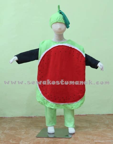 Tenda Anak Second kostum buah semangka kostum buah buahan sewa kostum