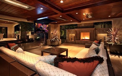 Contemporary Design Living Room widescreen wallpaper