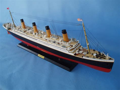 titanic rc boat sinking remote control 40 quot titanic model limited edition assembled