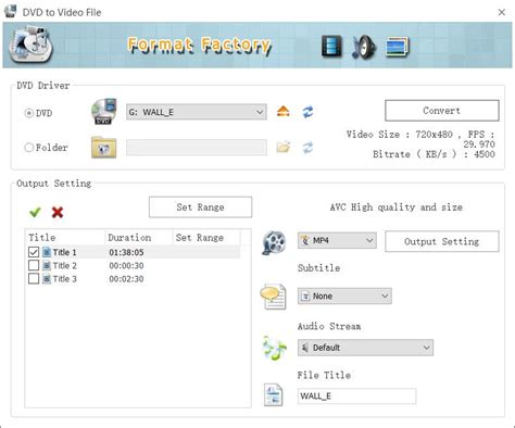 convert video to wmv by format factory format factory free media file format converter
