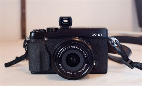 mirrorless with optical viewfinder fujifilm x e1 review lonely speck