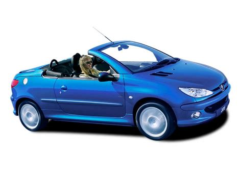 cabriolet peugeot peugeot 206 1 6 coupe cabriolet photos and comments www