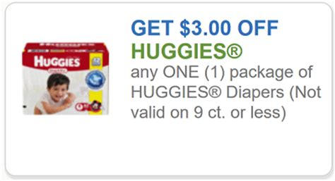 printable diaper coupons 2017 huggies coupon 3 off any one huggies diapers deals
