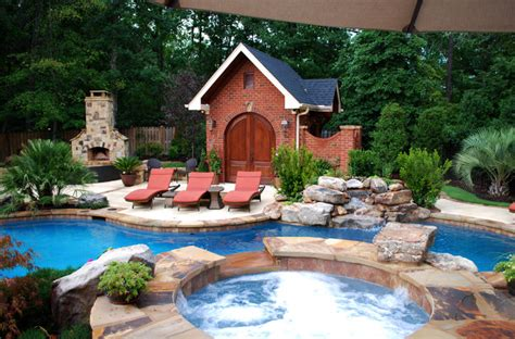 Private Residence Backyard Makeover Greenville Sc Backyard Makeover With Pool