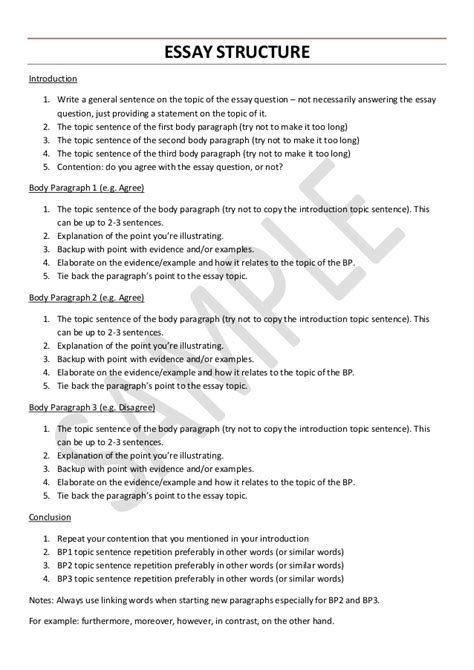 General Essay Topics In by Vce Language Essay Structure