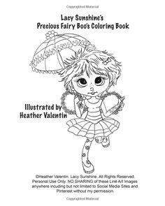 lacy s the buggmees coloring book whimiscal fairies winged big eyed adorable images valentin volume 49 all ages lacy coloring books books lacy s quot the boo s quot coloring book volume 3