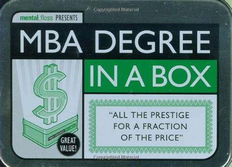 Mba Degree Arts by Mba Degree In A Box School In A Box Arts Entertainment